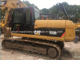 El excavador del gato 320d utilizó el excavador usado combustible inferior del gato 320d de la oruga
