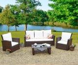 2018 новых полимерных плетеной/удобный диван для отдыха в саду садовой мебелью
