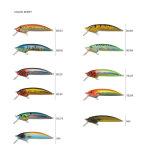 Pr-Ls043/044 a personnalisé l'attrait en plastique de flottement de pêche de vairon dur
