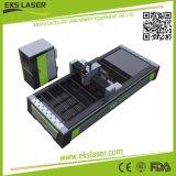 Adjunto completo mesa de trabajo de máquina de corte láser de fibra intercambiable.