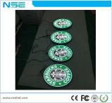 Sng P3mm Logo Intérieur signe signe ronde affichage LED