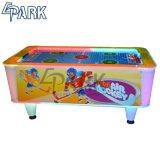 아이들을%s 동전에 의하여 운영하는 공기 하키 테이블 게임 기계