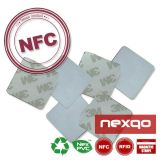 Unteres überzogenes Papier NFC des Preis-RFID HF-13.56MHz versieht RFID Kennsätze/Aufkleber mit Warnschild