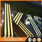 Письмо алфавита высокого качества Frontlighted с по-разному цветом