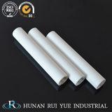 Tubo di ceramica della fornace industriale del tubo dell'allumina a temperatura elevata dell'isolamento 99%