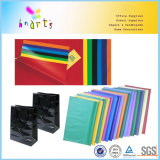 Hojas coloreadas del papel de cera