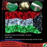 Lumière de décoration de Noël de jour national de Moyen-Orient d'indicateur du Kowéit d'éclairage de DEL