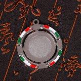 Het Afgietsel van de Matrijs van de Legering van het zink met het Emailleren van Sleutelring