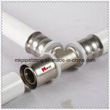 Алюминиевая разнослоистая труба Pex Al mm Pex белизны 25 в сварке в стык