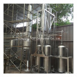 Olio di motore nero usato che ricicla l'unità di distillazione