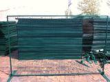 Portátil canadiense recubierto de polvo de los paneles de cerco, 6M X 10pies valla temporal estilo Canadá