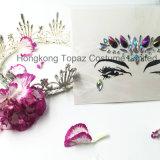 Hongkong Топаз Professional безопасной кожи глаз перед лицом Tatto Rhinestone Crystal наклейки (E39)