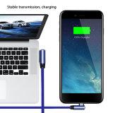 iPhone x를 위한 각 헤드 3FT 진 USB 비용을 부과 케이블