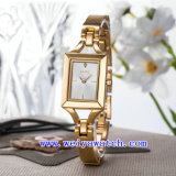 Relógio de venda quente do aço inoxidável da liga do relógio (WY-040A)