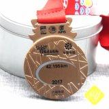 Comercio al por mayor ciclo de aleación de zinc Premios medalla Finisher Chef personalizado