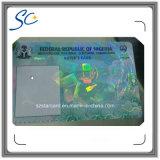 Изготовленный на заказ UV карточка печатание незримых чернил RFID