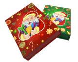 Rectángulo de regalo de la alta calidad para el conjunto del papel del regalo de la Navidad
