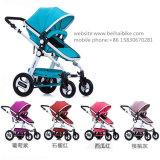 Europa-Standardfaltender Baby-LuxuxSpaziergänger 3 in 1