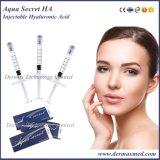 Gel secreto do realce do bordo do enchimento do ácido hialurónico do Aqua