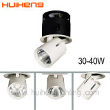 luz retractable de aluminio del punto de 0-10V Dimmable 35W 40W LED