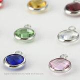 جيّدة نوعية مجوهرات بلّوريّة مستديرة [9مّ] [رهينستون] عقد من حجارة فاخر لأنّ بلّوريّة ماس شريكات