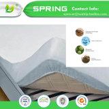 Qualité imperméable à l'eau de couverture de protecteur de matelas d'escompte de limite du coton 100% de Superking Terry