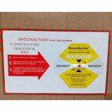 Las escrituras de la etiqueta de envío mundiales de la logística para el choque resisten el reloj