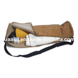 Sac de yoga de liège avec la courroie d'épaule réglable pour le couvre-tapis de yoga