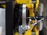 """Tubo dell'acciaio inossidabile 2 """" che filetta filettatura del tubo dell'impianto idraulico della macchina (SQ50)"""