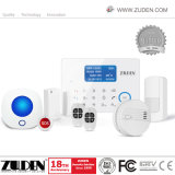 GMS and PSTN Doubles Network Intelligent Home Burglar Security Alarm with Cid Protocol