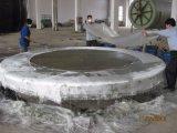 Cadena de producción horizontal de máquina de enrollamiento del tanque séptico del molde del tanque de GRP FRP
