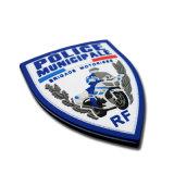 Os patches de borracha da polícia em relevo personalizados