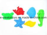Magnífico castillo Barril 9 piezas Conjunto de juguetes de playa