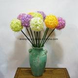 工場人工的なアジサイによってはバルクアジサイの球の人工花の卸し売りイギリスの人工的なアジサイが開花する