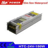 24V 6A 150W LED Schaltungs-Stromversorgung HTC des Transformator-AC/DC