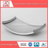 Material de construcción decorativa forma 3D/// trenzado esférica de la arquitectura curva el panel de metal