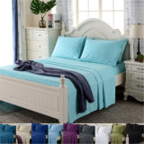 Poliéster/algodón consolador establece cama blanda hoja Establece