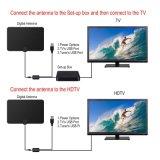 Nueva antena digital amplificada interior HDTV de 50 millas de alcance de difusión local 4K/HD/Señal VHF/UHF