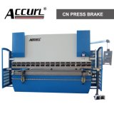 63TX2500мм Accurl ISO 2+1 оси алюминиевого листа гибочный станок