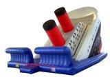 膨脹可能な弾力がある城のスライドかInflatalesのスライドを泳ぐ贅沢なCustomed