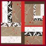 2017 abstrakte neue Werke für quadratischen Silk Schal