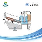 Pequenas instalações de tratamento de esgoto desidratação de lamas pressione