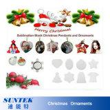 De in het groot Nieuwe Hete Decoratie van Kerstmis van de Kleur van het Flard van de Sublimatie van de Verkoop
