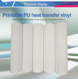 Fabricante China mejor calidad precio barato PU la película de vinilo textil Transfer imprimible