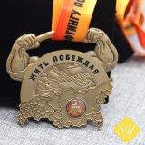 Professionnel de la fabrication de métal de compétitions sportives personnalisé de l'exécution d'attribution des médailles