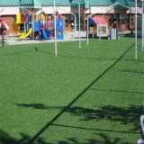 Grama sintética do tapete do futebol para campos de futebol