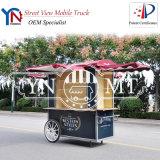 Caminhão pequeno do alimento da rua do indicador de mercadoria