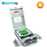 Núcleo de 16 Caja de distribución de Fibra Óptica- la caja de terminales de Terminación de fibra óptica FTTH- Cuadro de distribución