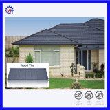 Casa modelo de madeira do telhado preços baratos telha de Metal