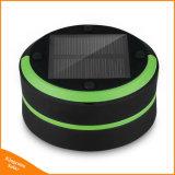 Bewegliches nachladbares LED-kampierendes Laterne-Taschenlampen-ultra helles zusammenklappbares kampierendes Solarsolarlicht für im Freien wanderndes Fischen